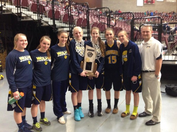 Lady Wolves Bring Home A Championship