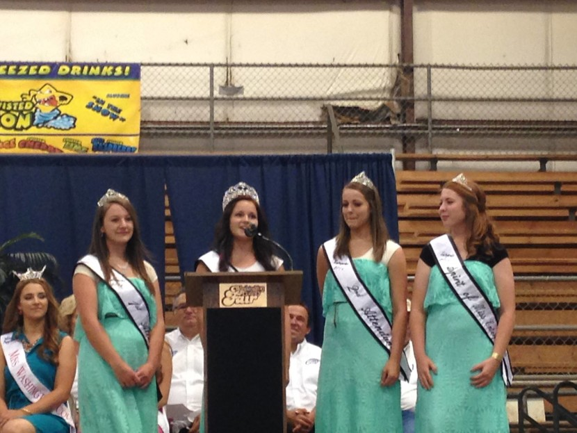 Miss Enterprise Royalty Attends Washington County Fair
