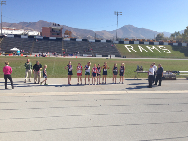 EHS Cross Country Girls Take 2nd in State