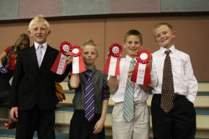 Enterprise Elementary History Fair District Results