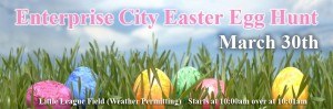 Enterprise City Easter Egg Hunt (March 30) 10am Sharp