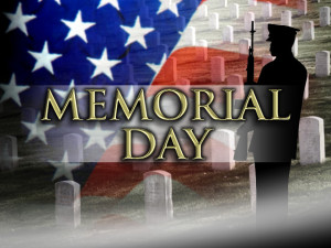 Memorial Day Flag Raising and Program (May 27th 9AM)