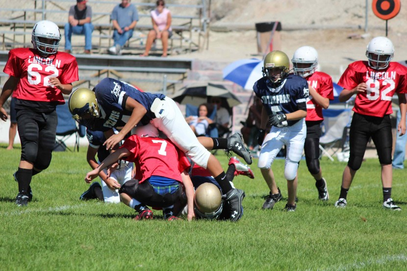 7th and 8th Grade Football Squeeze by Panaca