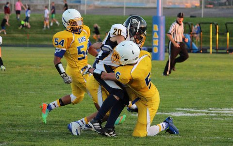 Enterprise Football Shutout Parowan