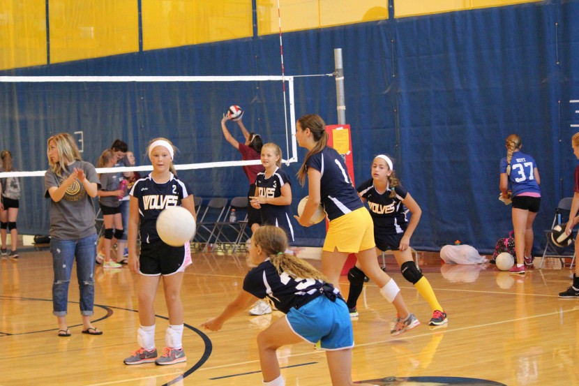 Enterprise 5th-8th Grade Volleyball Start Undefeated