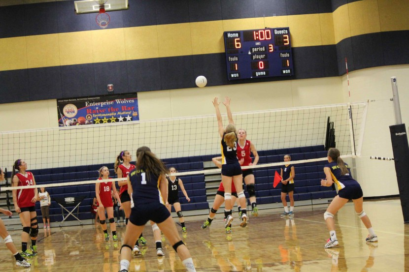 EHS Volleyball Slips by Kanab