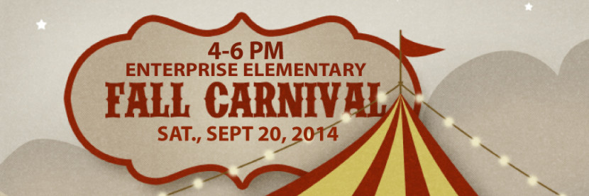 Fall Carnival Sept 20 4-6pm Enterprise Elementary