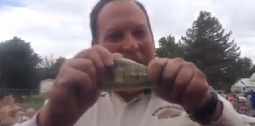 Local Principal Donates to ALS Cause and Gets a Surprise