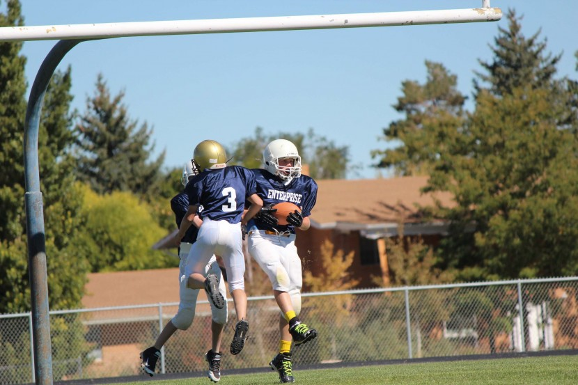 Enterprise City 7th and 8th grade Football Double Overtime
