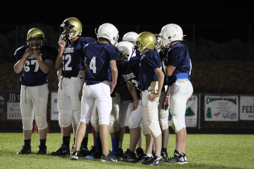 Enterprise City Football:7-8 Grade Remains Undefeated
