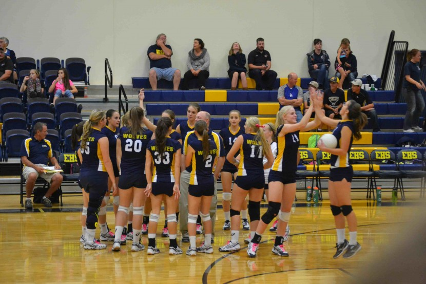 EHS Volleyball vs Millard (Live Feed) Varsity Game