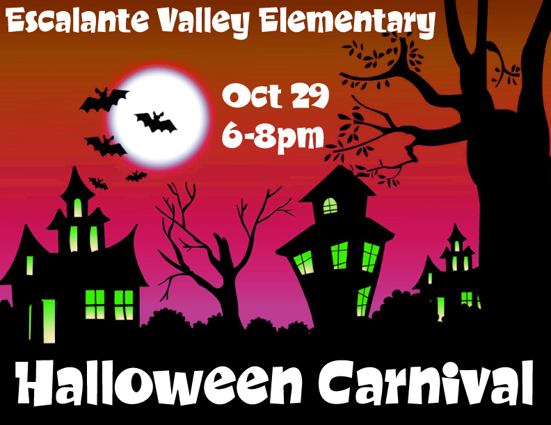 Escalante Valley Elementary Halloween Carnival (Oct 29)