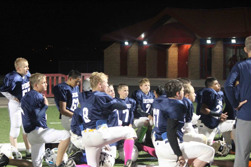 Enterprise 7-8 Grade Football Fall in Championship Game