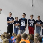 Enterprise Elementary Football Players 4