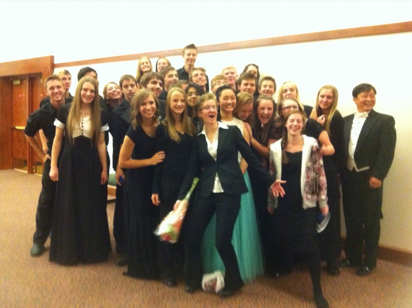 Enterprise High School Choir Performs With the Orchestra of Southern Utah