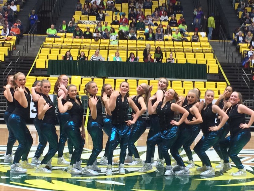 EHS Drill Team: UVU Drill Team Invitational