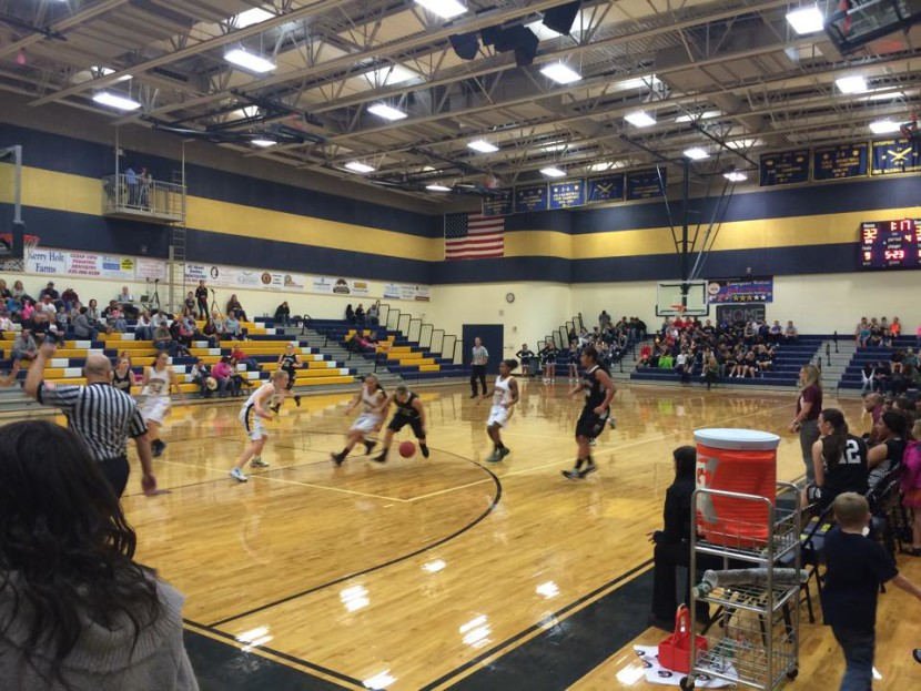 Enterprise Girls Basketball: Enterprise Loses Close One at Home