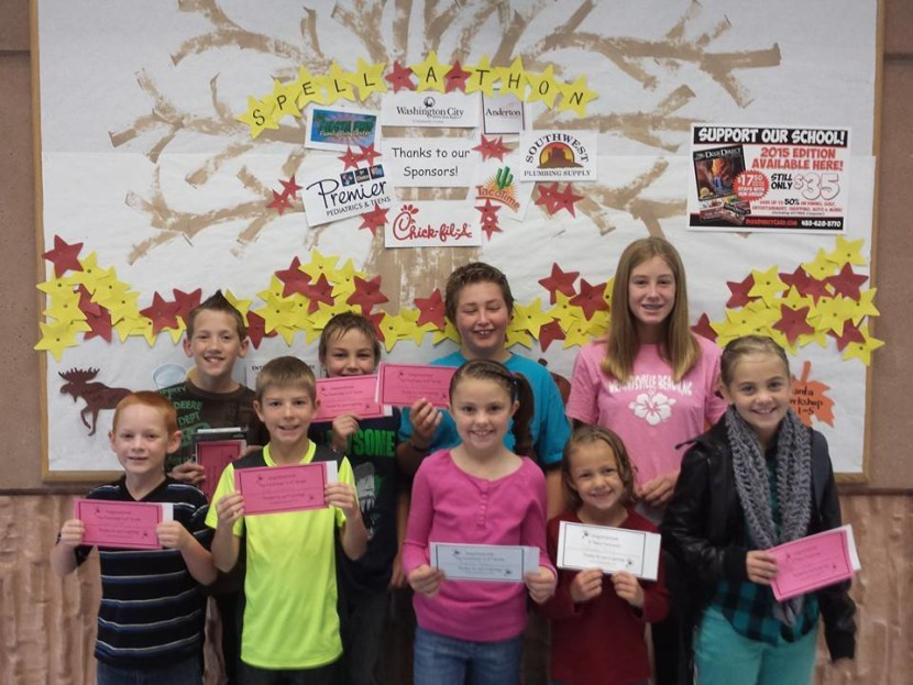 Enterprise Elementary Spell a Thon Success