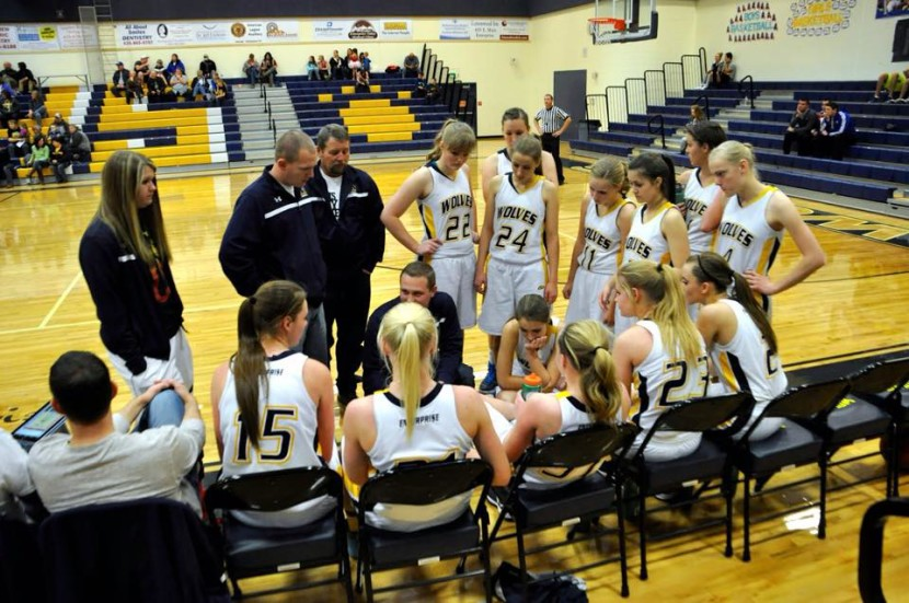 EHS Girls and Boys Basketball Teams Win Blue and Gold Tournament