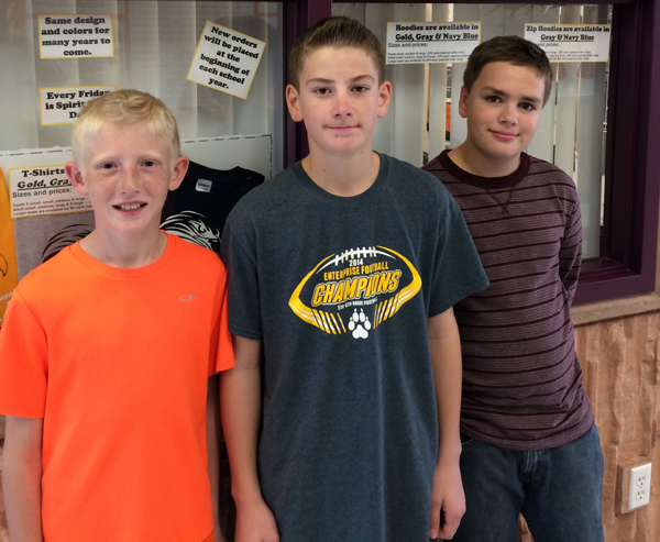 Bowler Wins Geography Challenge at Enterprise Elementary