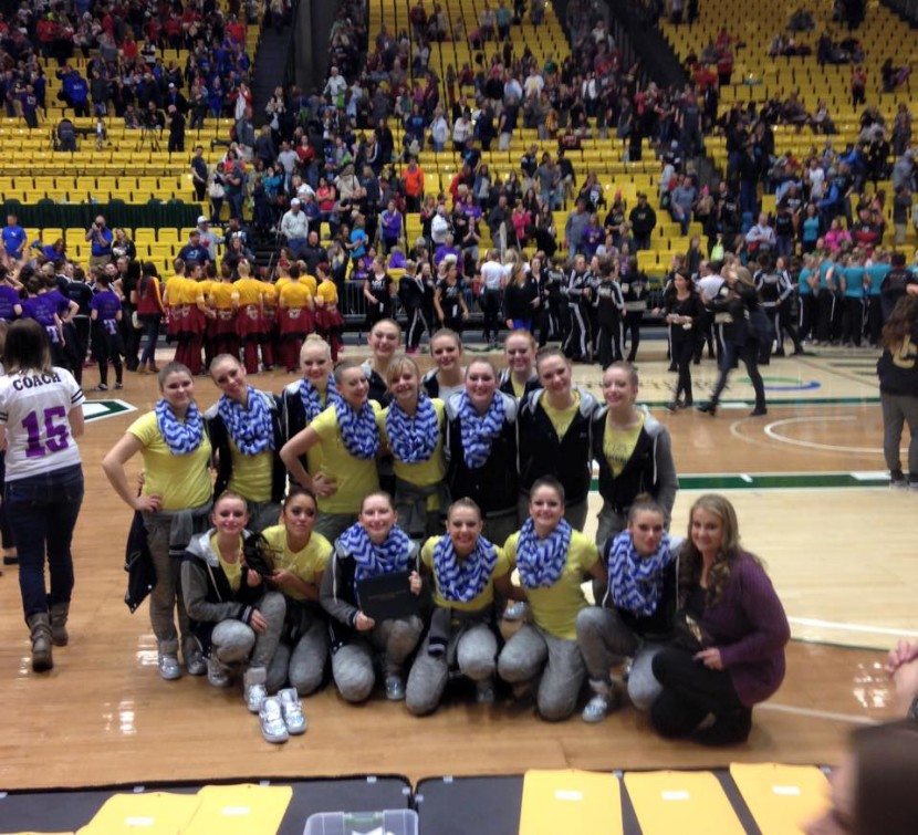 EHS Drill Team Return From State and Anzalone is 2A Coach of the Year