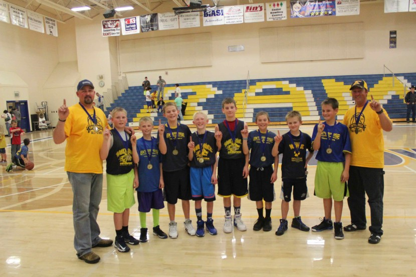 5th and 6th Grade City Basketball League Take Championship