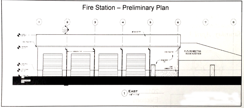 Enterprise Fire Station and City Offices Under Construction