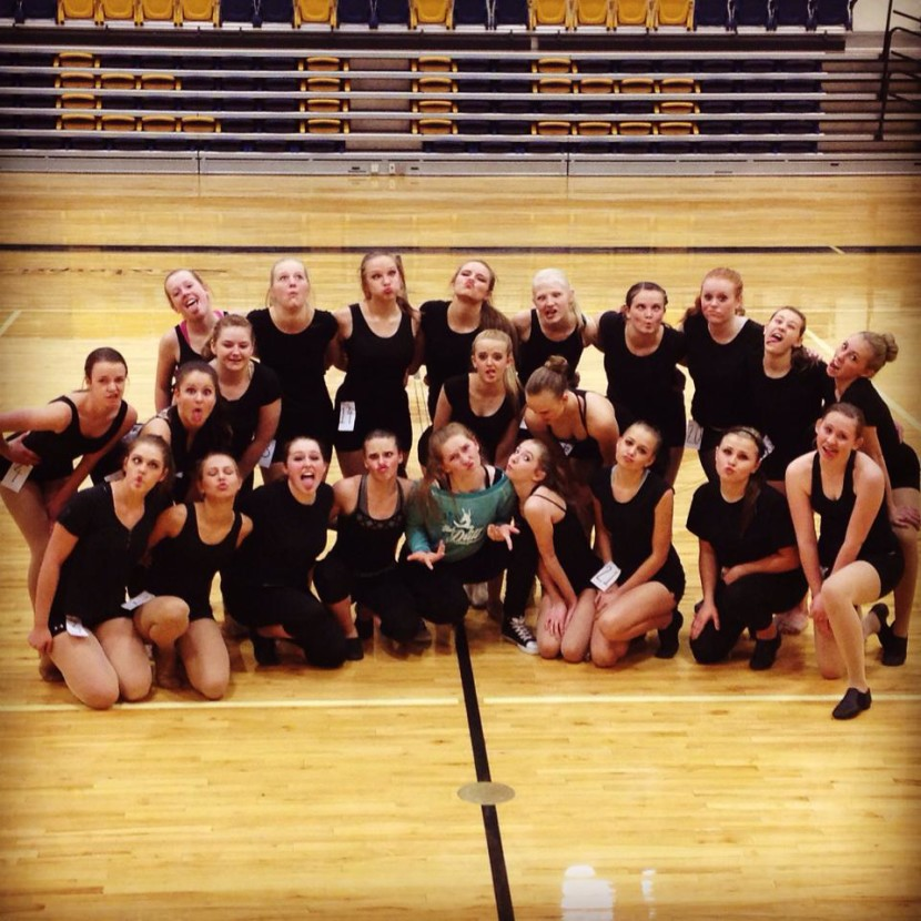 New EHS Drill Team 2015-2016