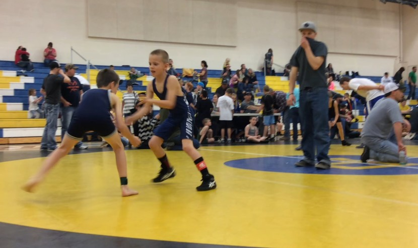 Bantam Wrestling Team Duel March 17th at EHS