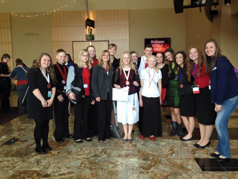 EHS Students Return with Many Medals From FCCLA State Competition