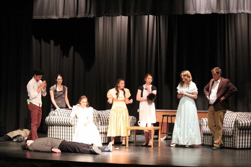EHS Theater: The Murder Mystery at The Murder Mystery