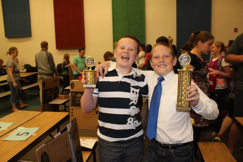 Enterprise District Science Fair Results