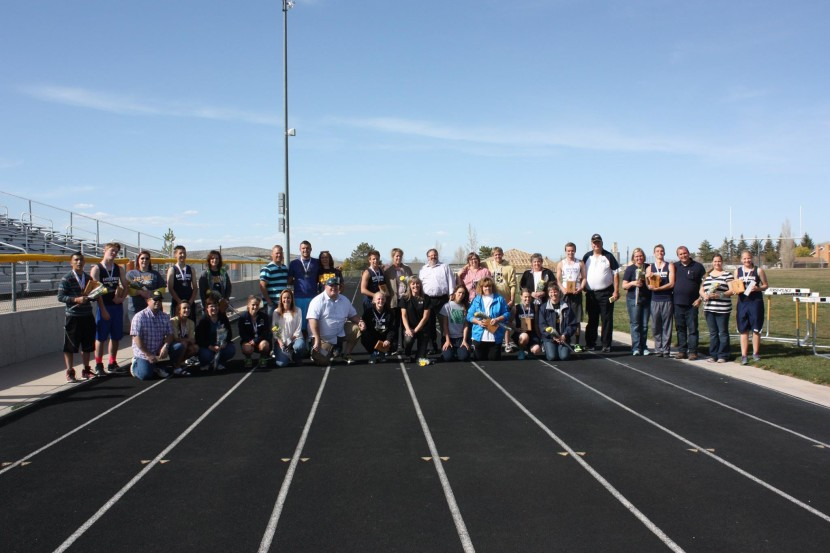 EHS Track and Field Senior Day