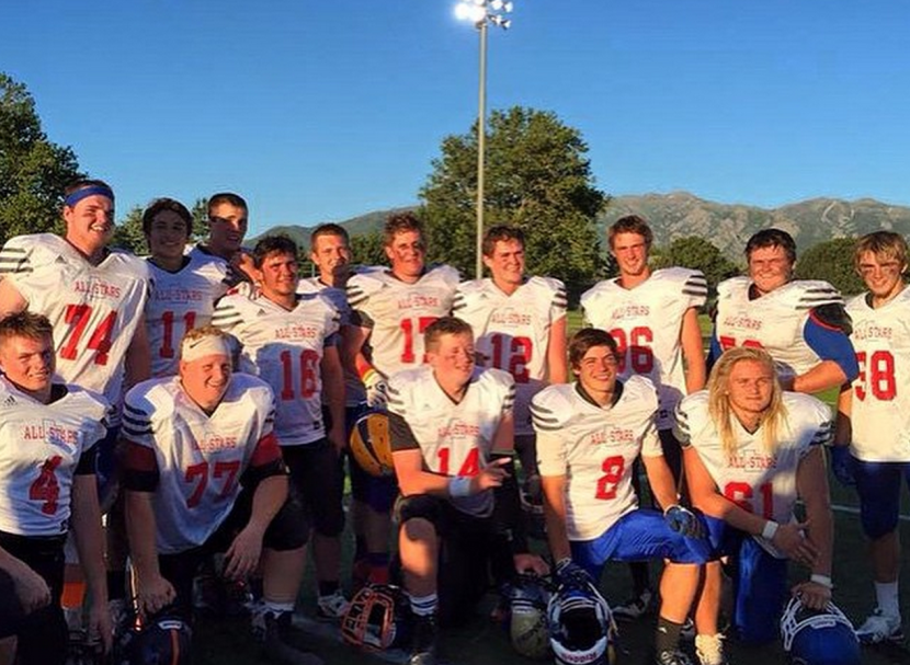 Kelton and Chad Help Bring Victory to Senior All Star Game