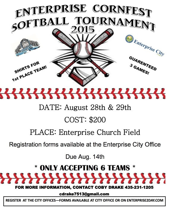 Cornfest Softball Flier-1