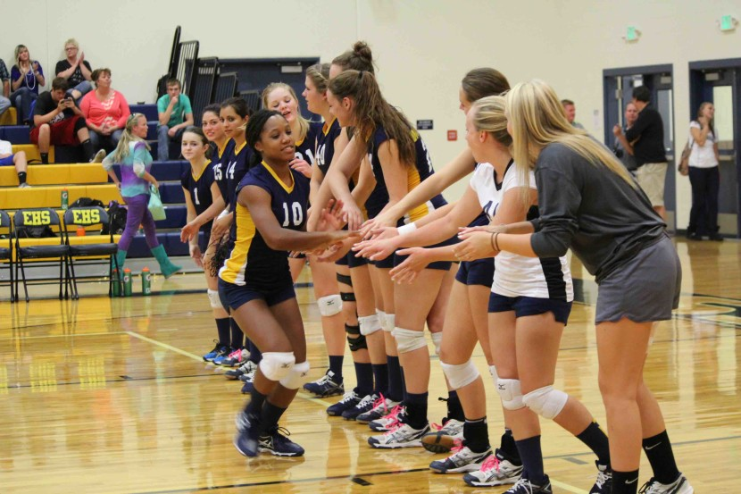 EHS Volleyball: Enterprise High vs South Sevier Live!