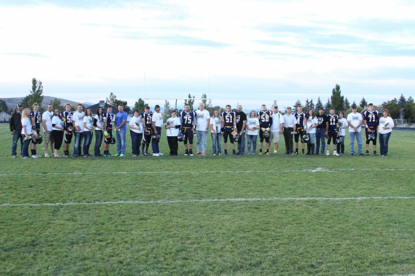 Enterprise High Honors Seniors at Final Home Football Game