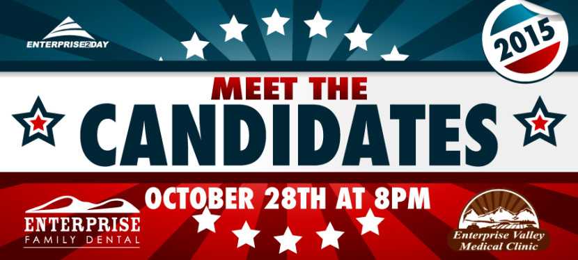 Meet the Candidates October 28 at 8pm