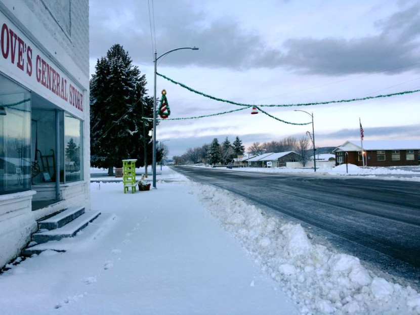 Winter Storm Hits Enterprise with More to Come