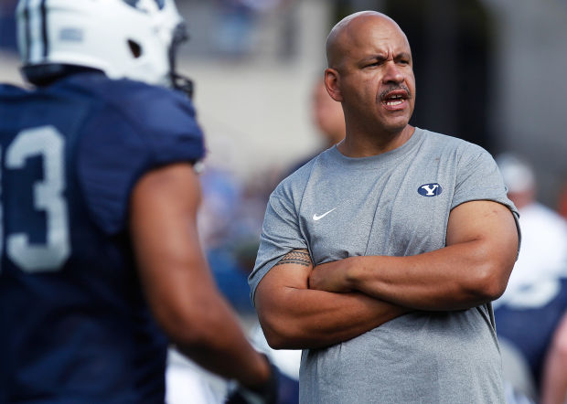 INTERVIEW WITH BYU WR'S COACH GUY HOLLIDAY