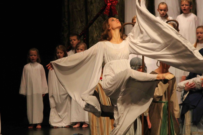 Local Christmas Play Brings The Spirit of Christmas to Enterprise