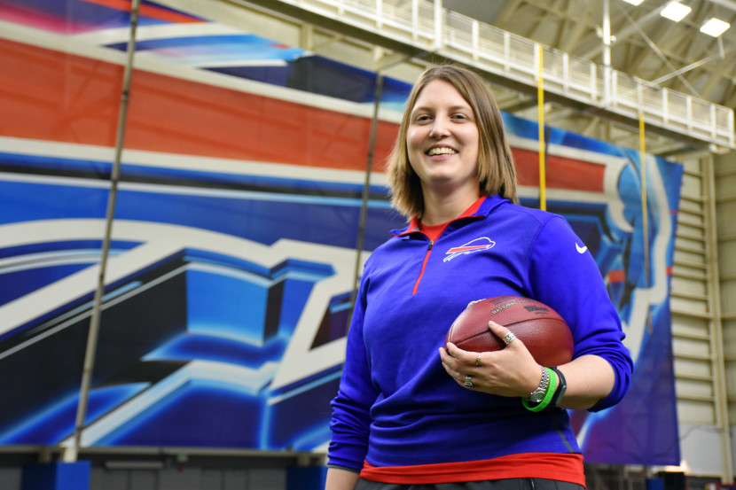 BUFFALO BILLS MAKE HISTORY WITH FIRST FULL-TIME NFL FEMALE COACH