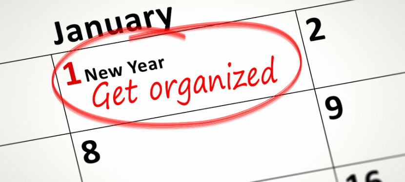 Top Tips to Get Organized in 2016