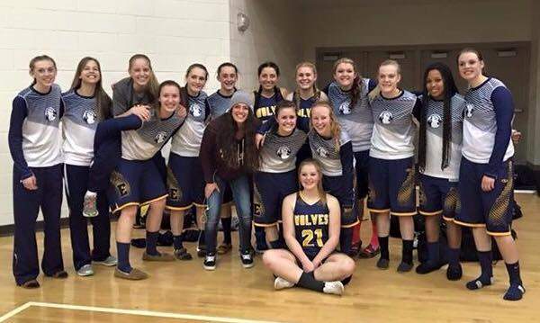 Lady Wolves Head to 2A Quarterfinals in Richfield