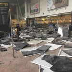 A departures hall at Brussels Airport was devastated by Tuesday's explosions. Jef Versele / Jef Versele