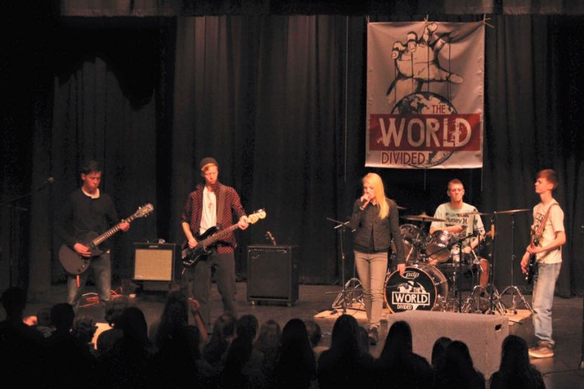 Local Band: The World Divided Heading to State Battle of the Bands April 9th