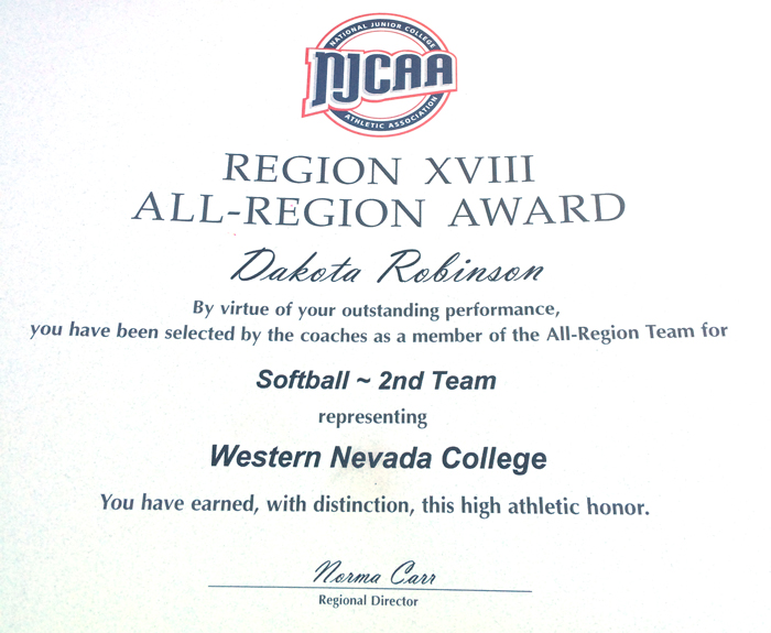 Dakota-RObinson-All-Region-WNC