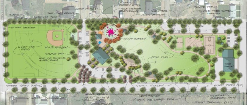 Final Steps are Underway for New Enterprise City Park