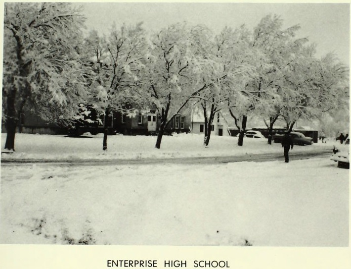 Enterprise High School in 1961