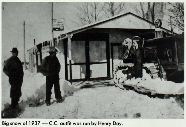 Big snow of 1937 found in the 1977 Enterprise High School yearbook